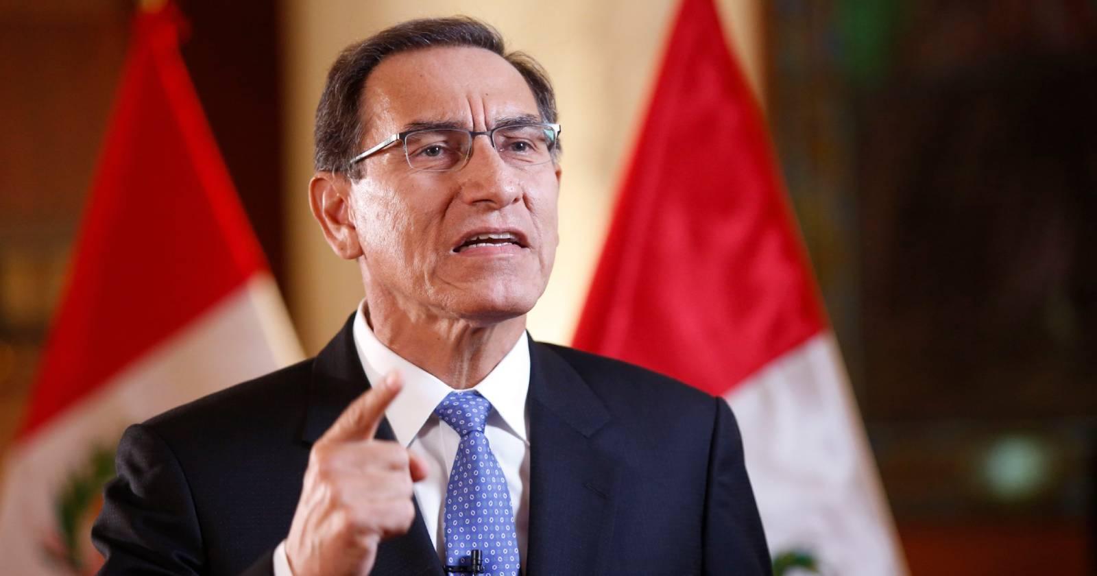 Perú: Vizcarra convoca a elecciones generales para abril de 2021