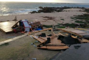 FOTOS | Onemi confirma paso de tromba marina en El Quisco
