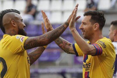 VIDEO – Arturo Vidal marcó un gol para FC Barcelona en el duelo ante Real Valladolid