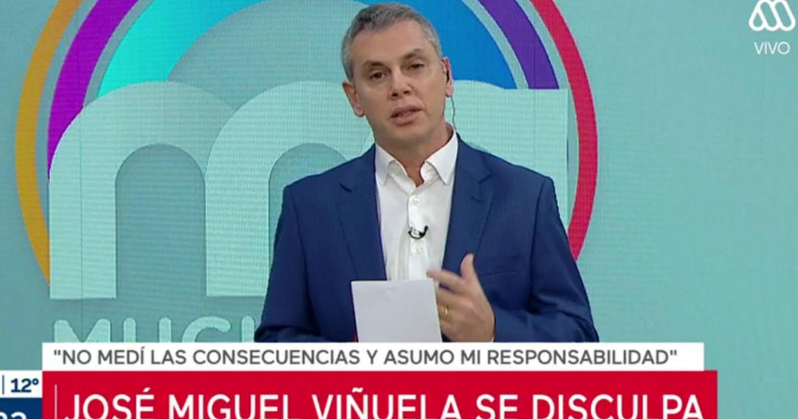 Mega anuncia que José Miguel Viñuela deja la conducción del Mucho Gusto