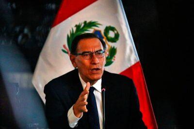 Filtran audios del presidente de Perú que lo vinculan a casos de corrupción