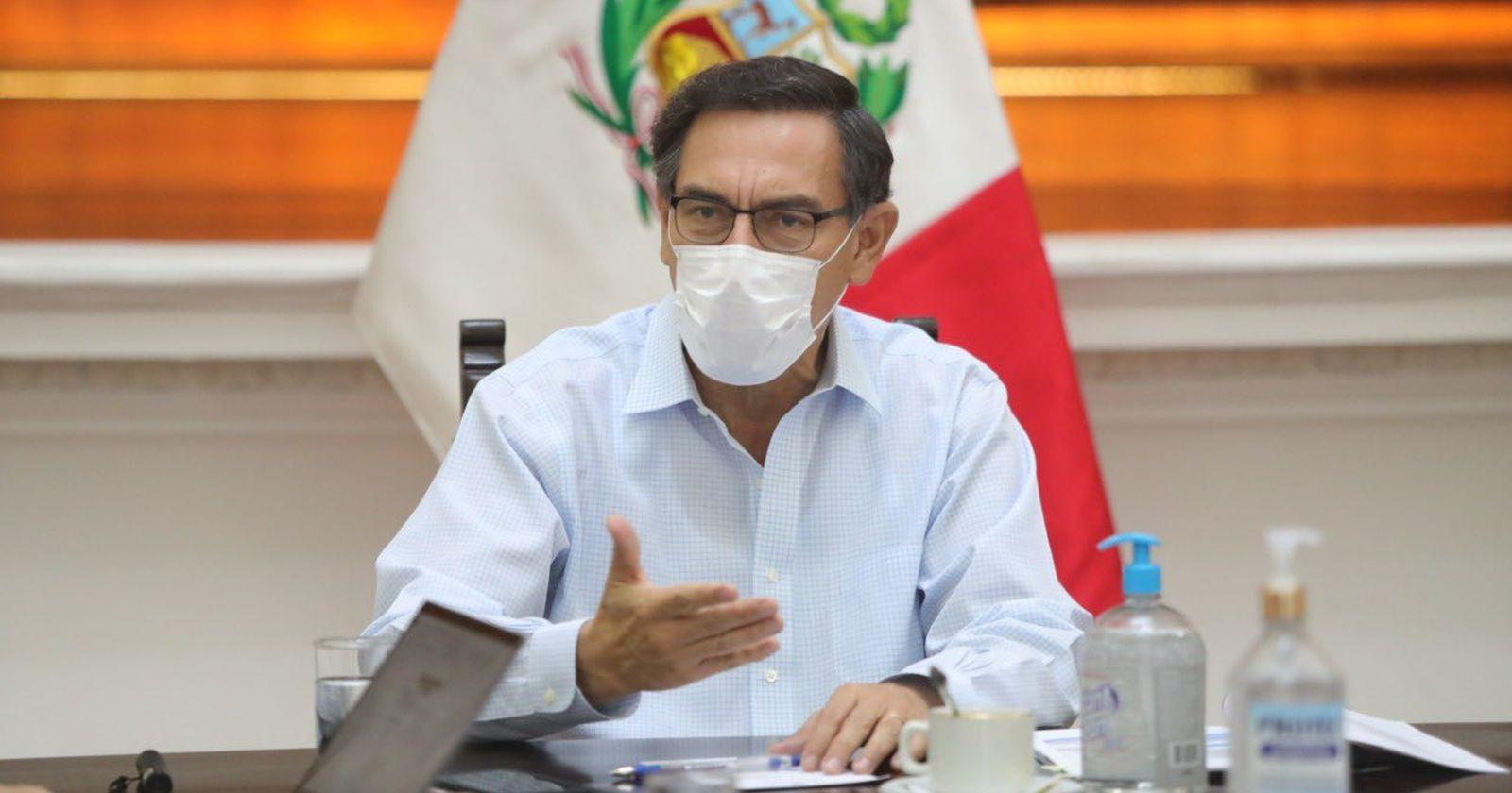 """TC de Perú rechaza recurso de Martín Vizcarrasobre """"incapacidad moral"""" de un Presidente"""