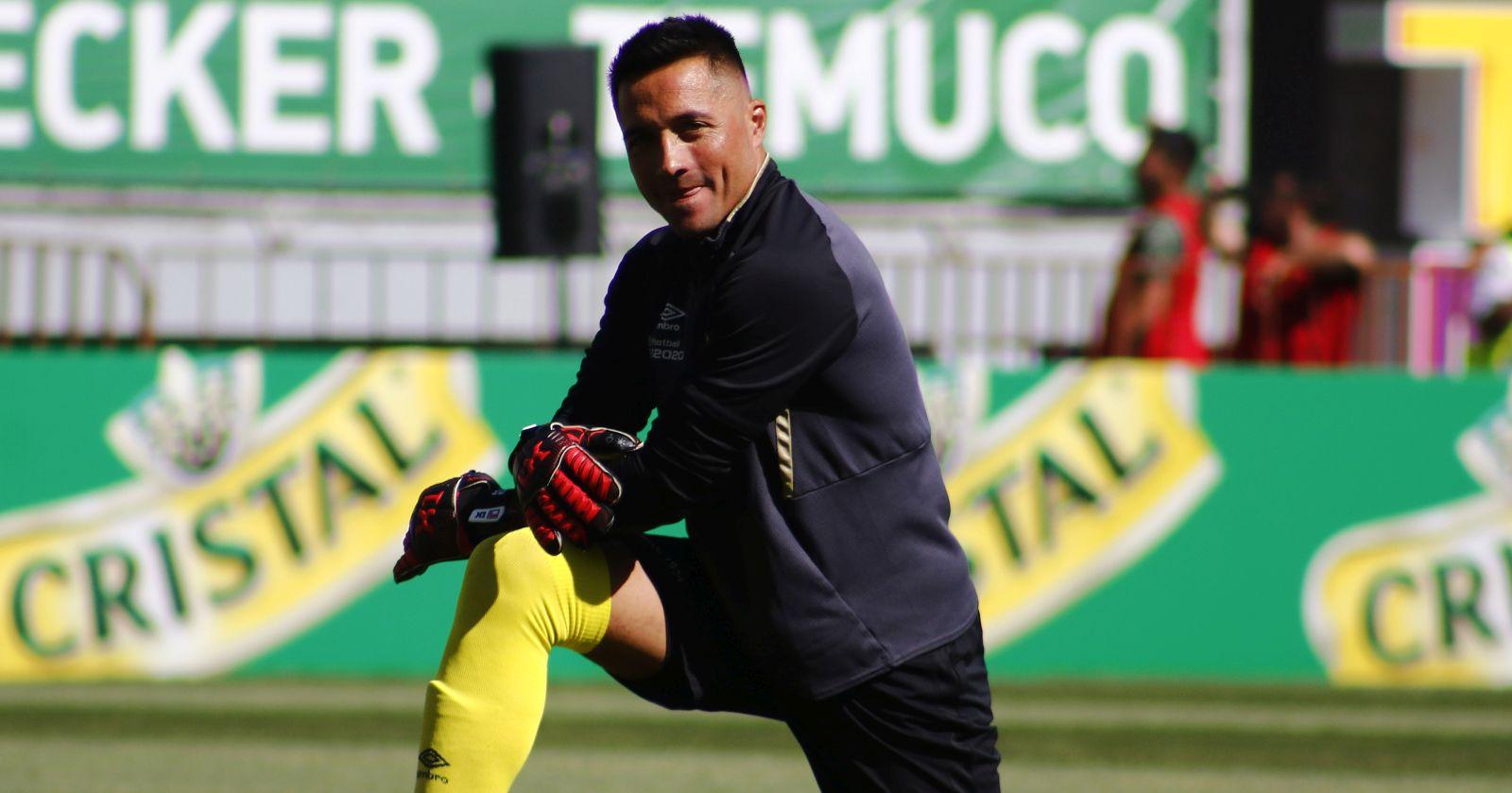 """Miguel Pinto: """"Johnny Herrera no es el mejor arquero del fútbol chileno"""""""