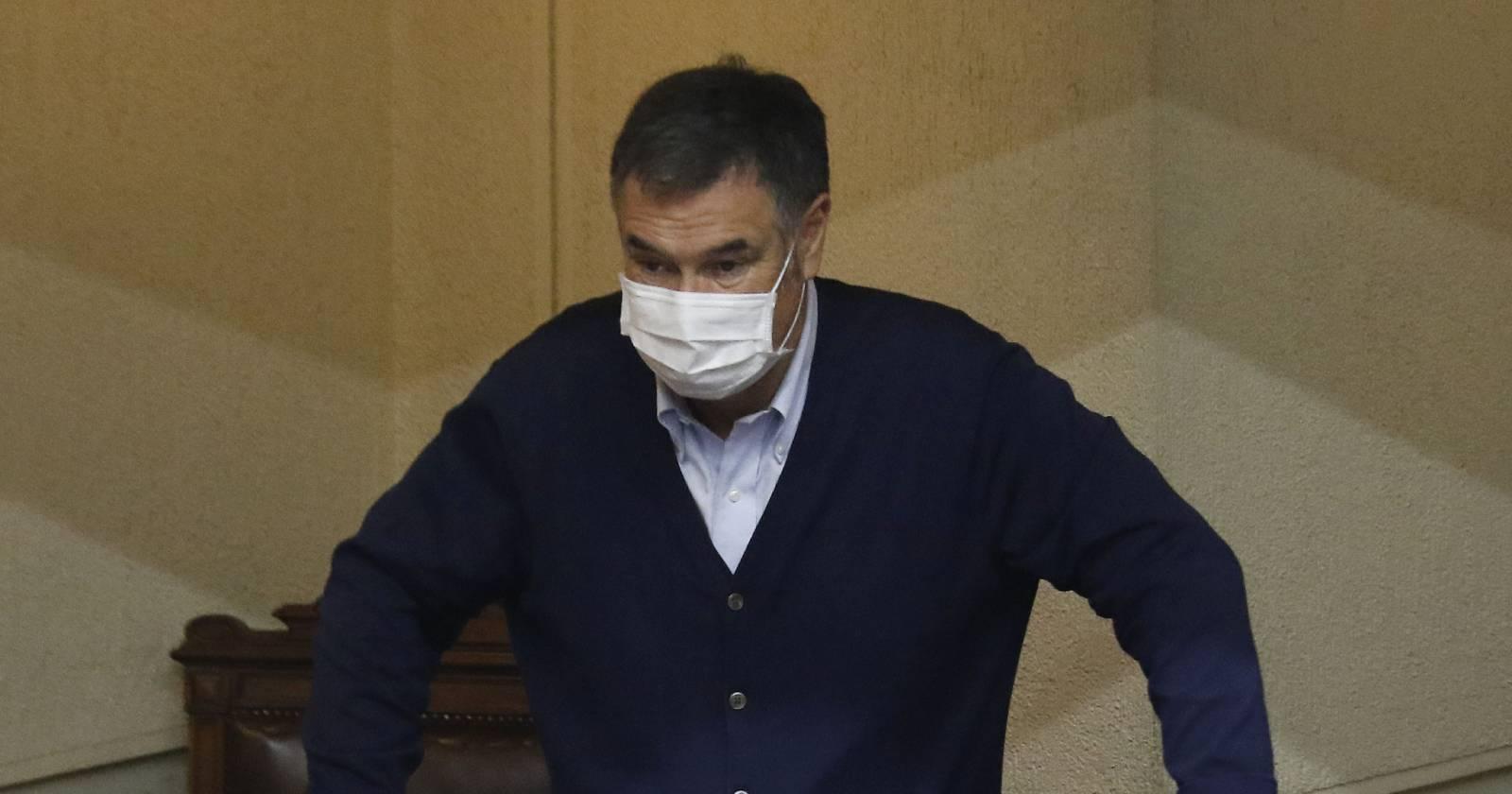 """Ossandón reitera vendetta e indica que """"no me he escondido en mi fuero como muchos parlamentarios"""""""