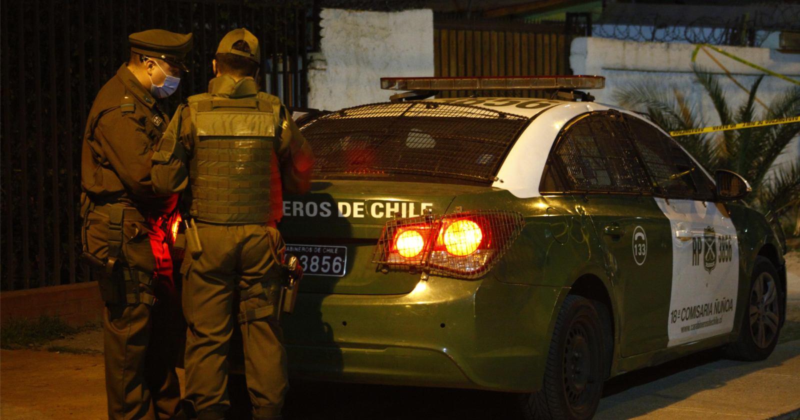 15 detenidos por grabar videoclip en la calle en Cerro Navia