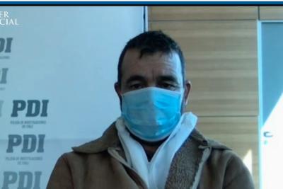 Hugo Bustamante ya está en la Cárcel de Alta Seguridad de Santiago