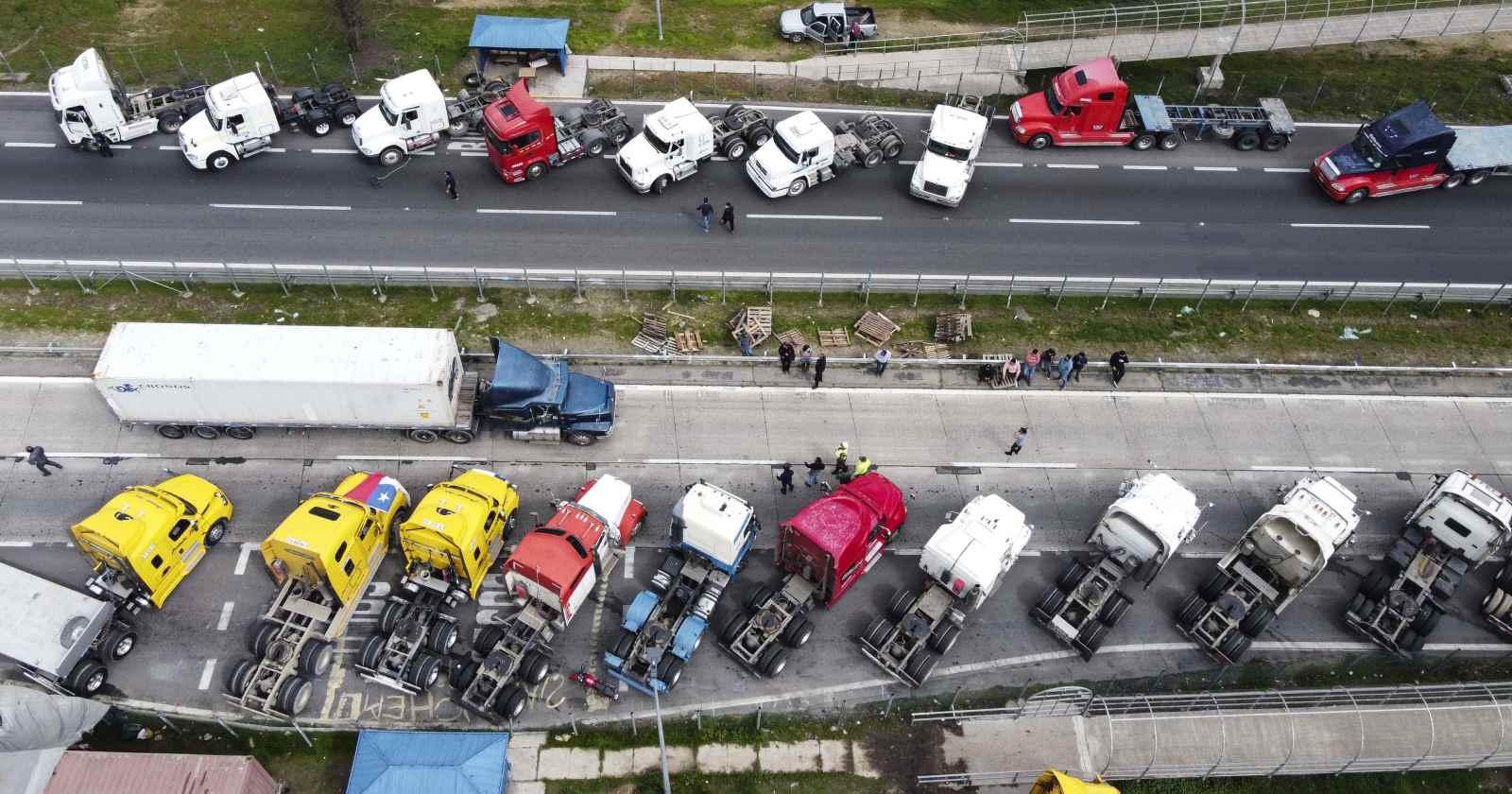 Cámara Nacional de Comercio se cuadra con camioneros y pide actualizar Ley Antiterrorista