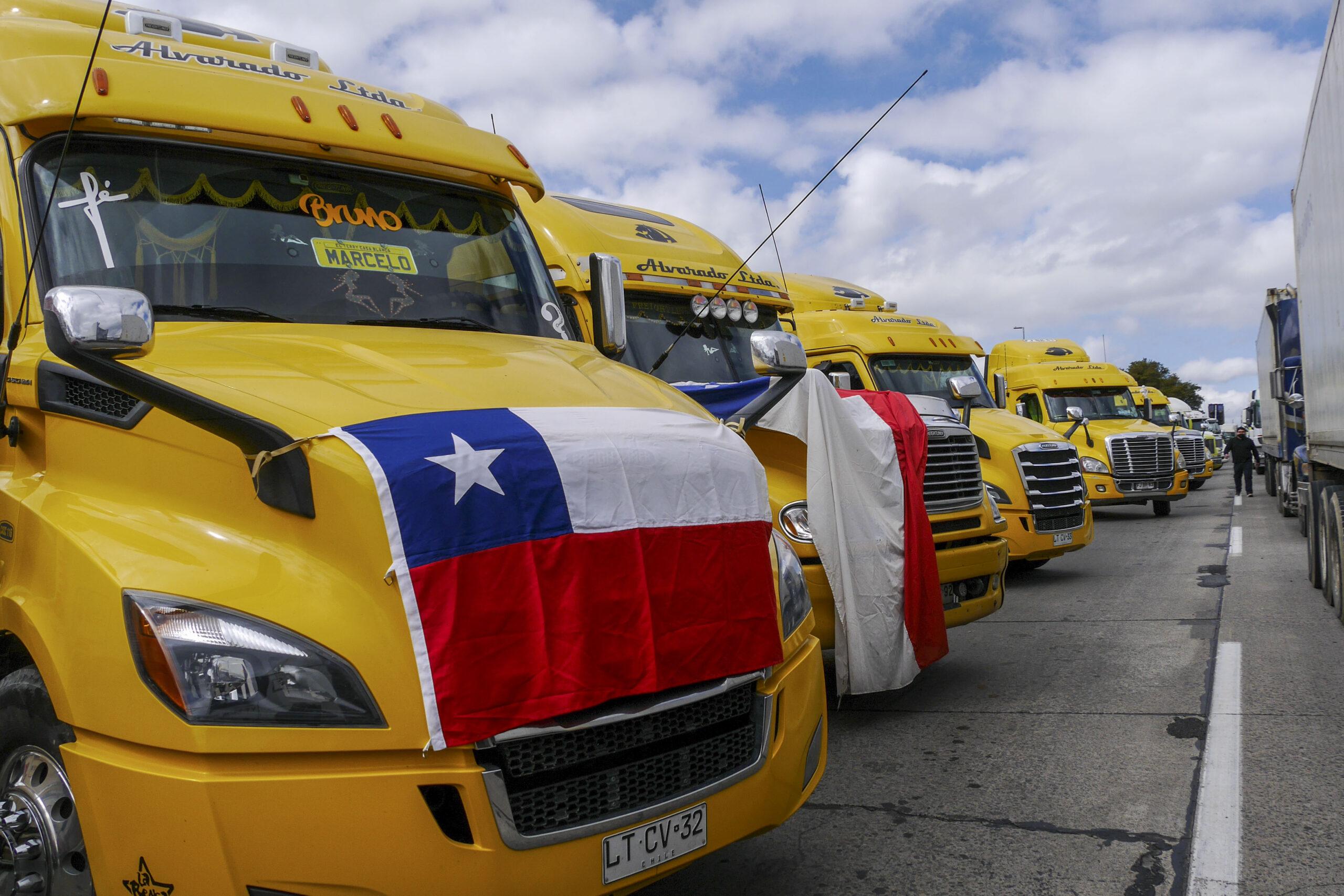 Quiénes están detrás del paro nacional de los camioneros