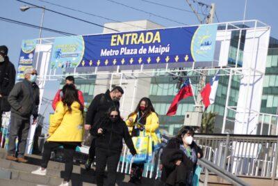 """""""No veo un colapso"""": Cathy Barriga evaluó las primeras horas de Maipú en la fase de transición"""