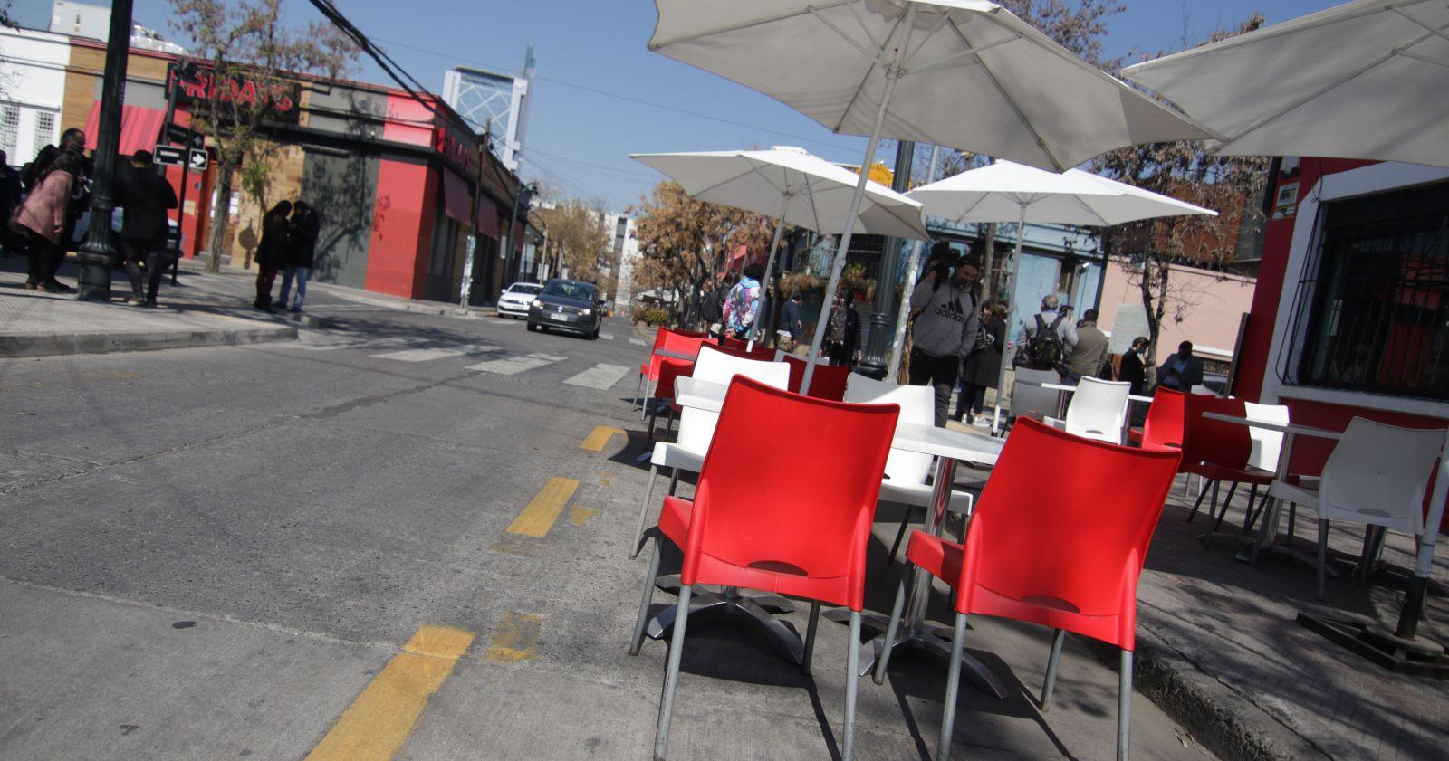 La experiencia internacional en la instalación de restaurantes en la calle
