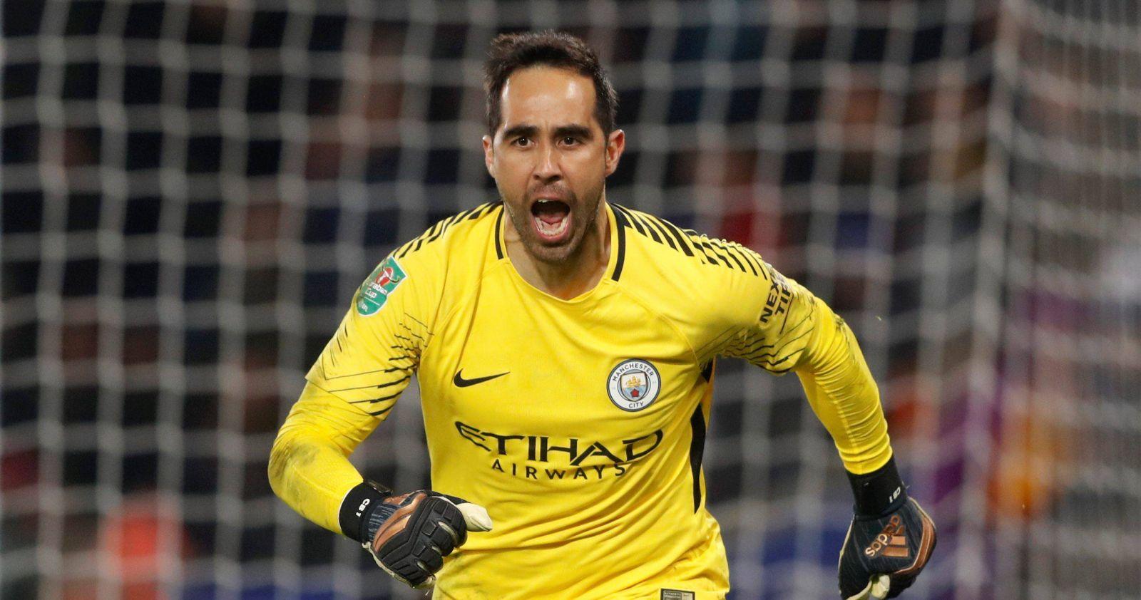 """""""Siempre los llevaré en mi corazón"""": el emotivo adiós de Claudio Bravo al Manchester City"""