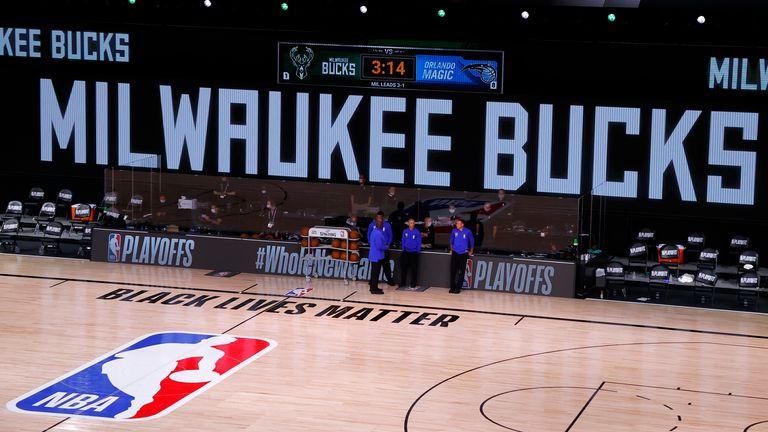 """""""Equipo de la NBA boicoteó un partido por el caso de Jacob Blake"""""""