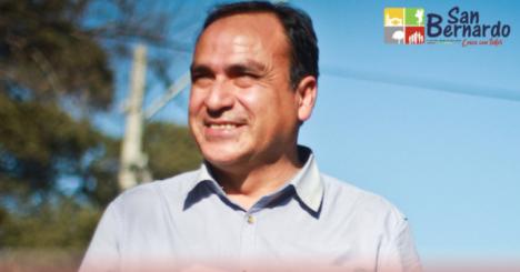 Leonel Cádiz asume como nuevo alcalde de San Bernardo