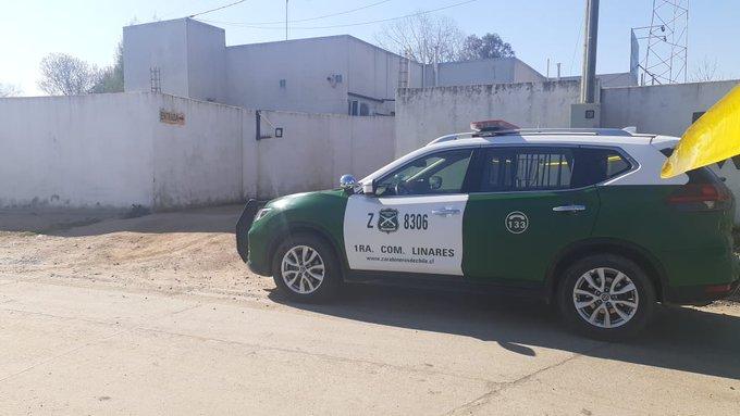 """""""Linares: se entrega carabinero vinculado con crimen de uniformada en motel"""""""