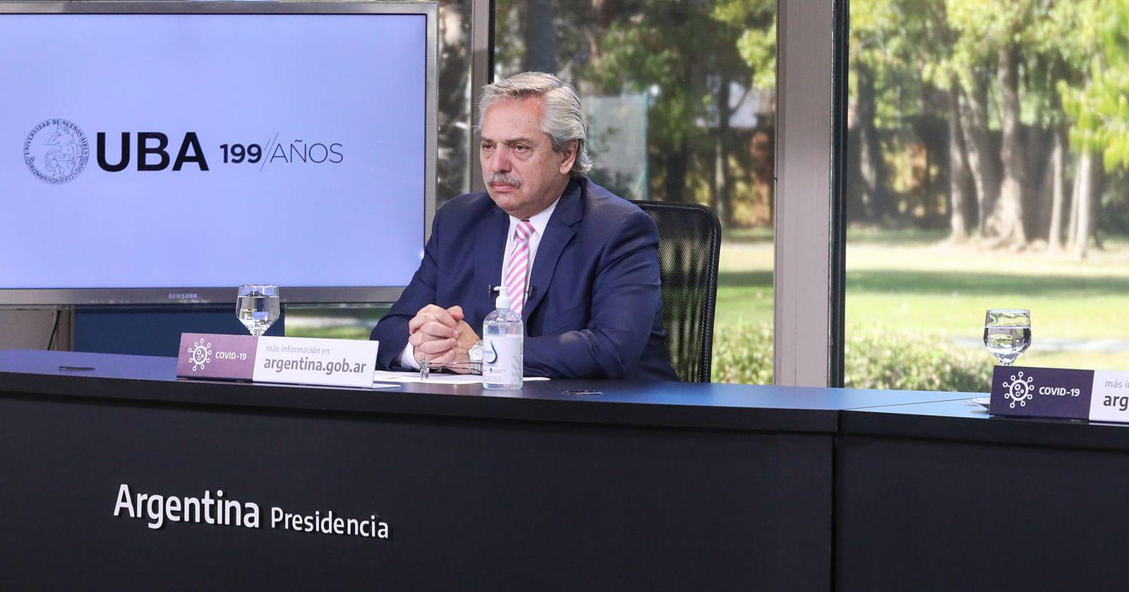 """""""Entre disculpas y correcciones: las comparaciones de Alberto Fernández para defender su gestión en la pandemia"""""""