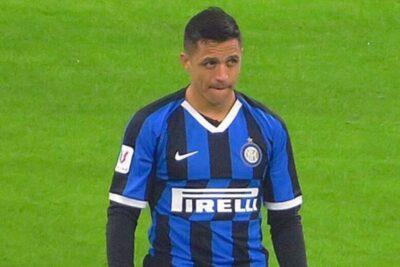 Alexis Sánchez jugó los últimos minutos en la caída de Inter ante Sevilla por la final de la Europa League