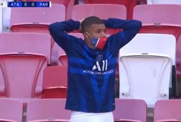 VIDEO – Las reacciones del PSG al increíble gol perdido por Neymar