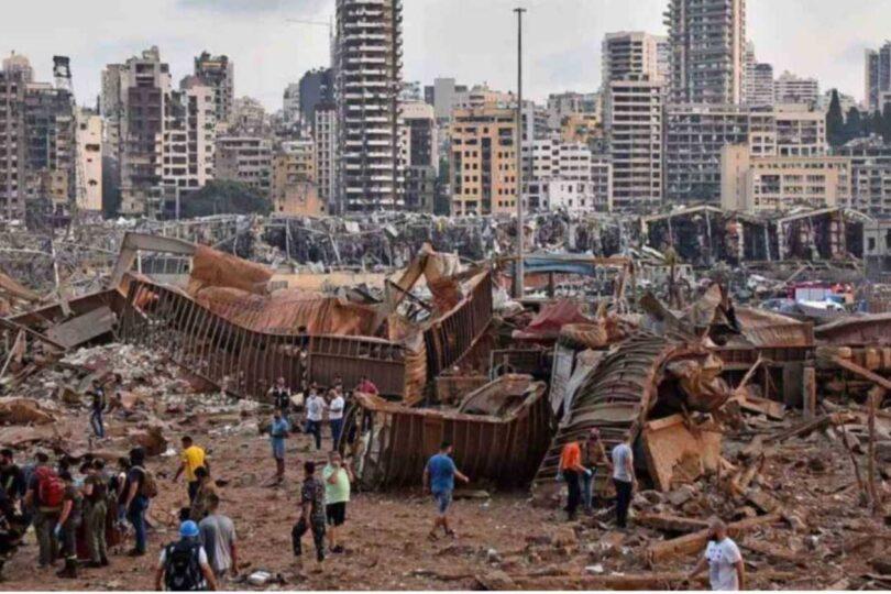Decretan arresto para jefes del puerto de Beirut por almacenamiento del mortífero nitrato de amonio