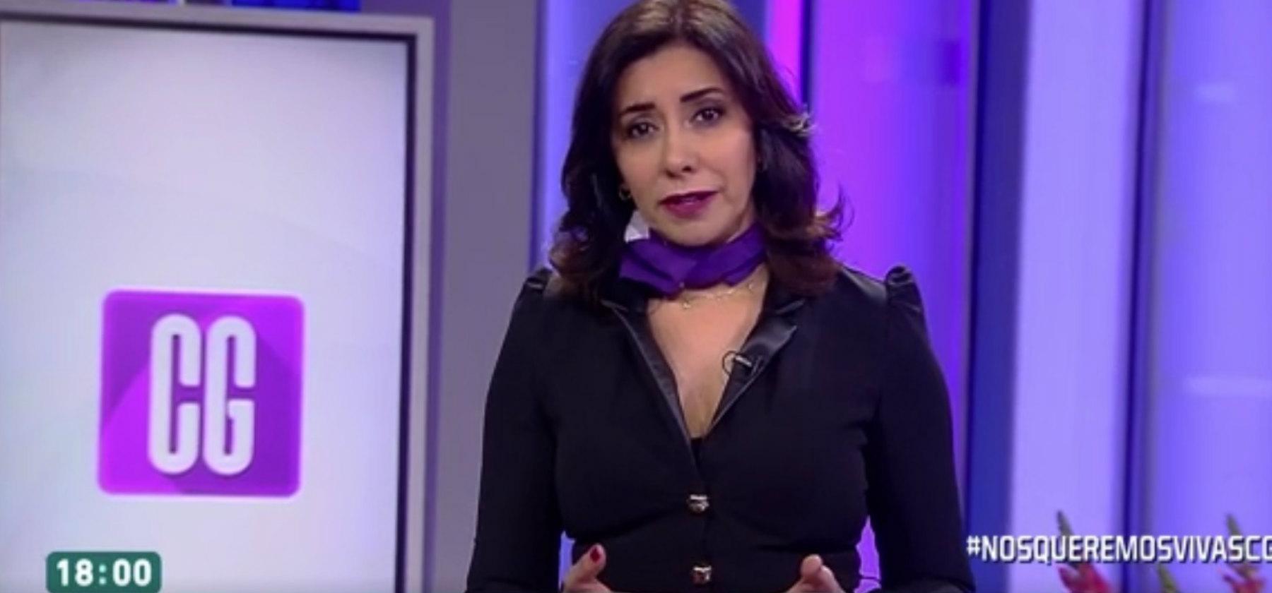 """Carmen Gloria Arroyo compartió especial mensaje sobre la violencia de género: """"Nos queremos vivas"""""""