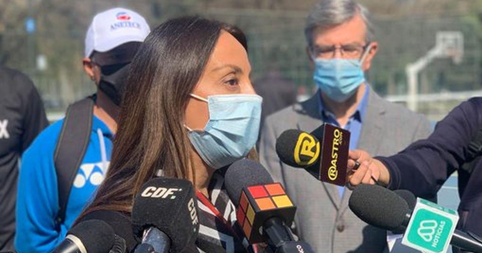 """Ministra Pérez por el protocolo de Conmebol: """"Las cosas se conversan antes, no se imponen"""""""