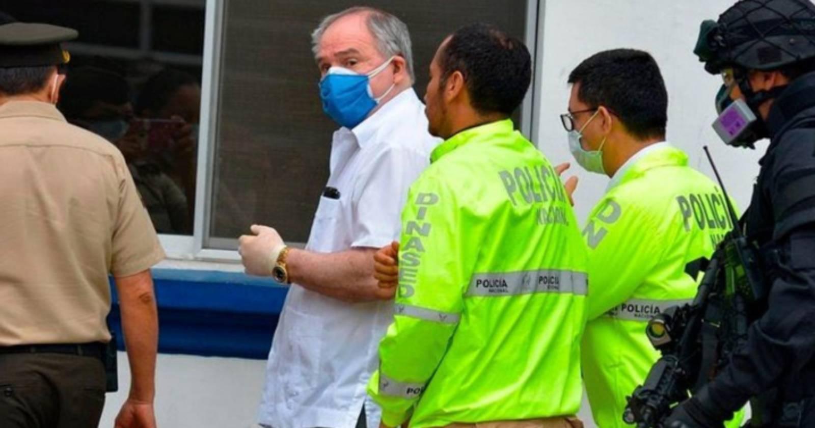 Detienen a ex Presidente de Ecuador Abdalá Bucaram por crimen organizado