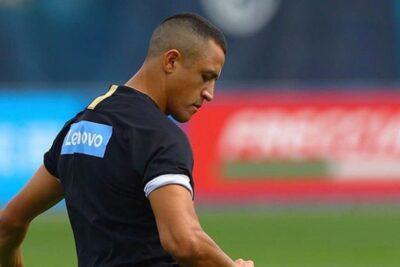 Inter de Milán confirma lesión muscular de Alexis Sánchez