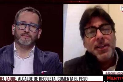"""VIDEO – Jadue por rechazo a su candidatura: """"En este país, un estafador de banco puede ser Presidente"""""""