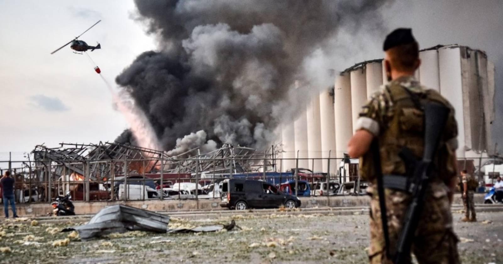 Explosión en Beirut deja 3 mil millones de dólares en daños
