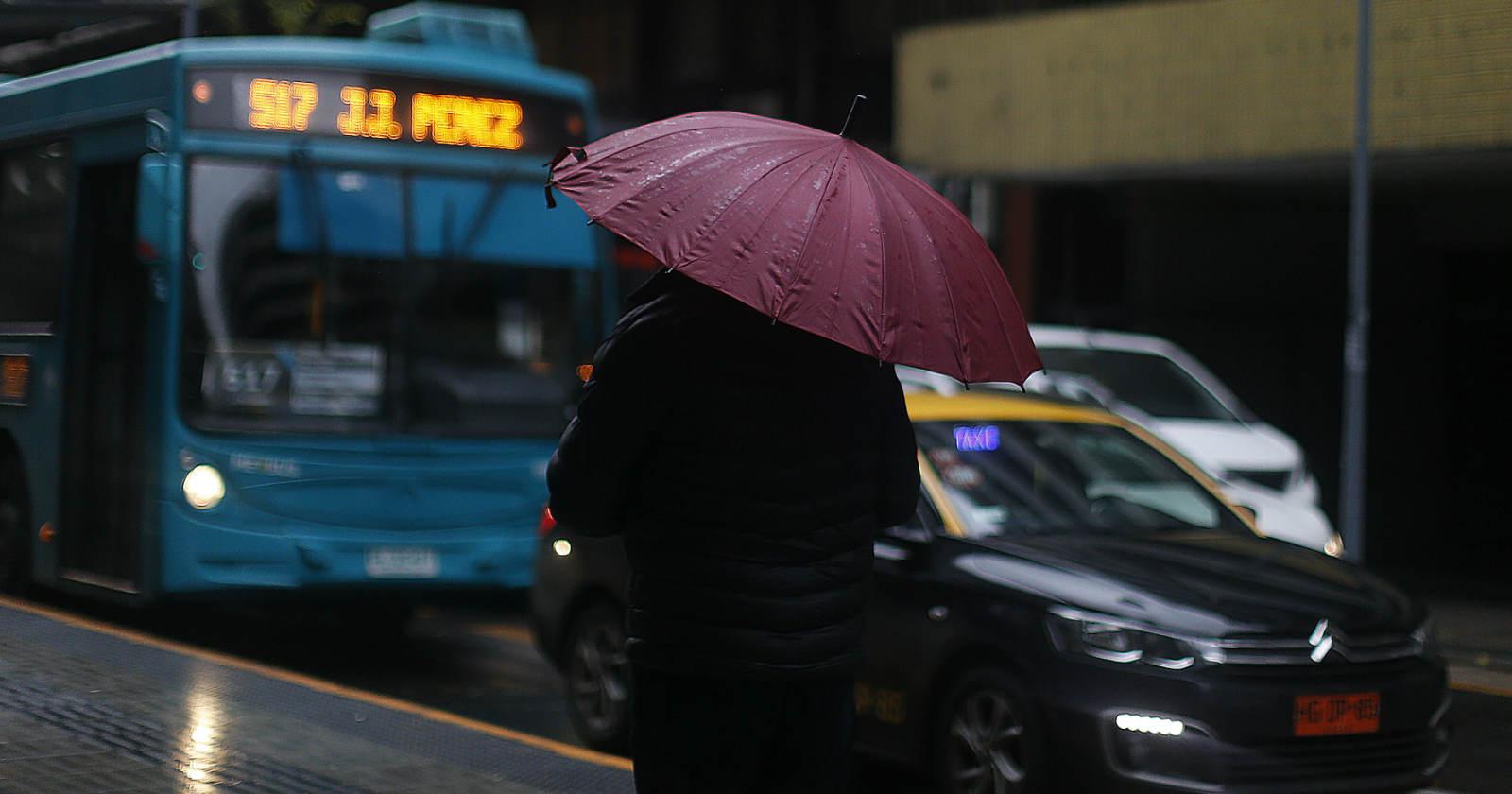 A sacar el paragua: pronostican precipitaciones entre Coquimbo y O'Higgins
