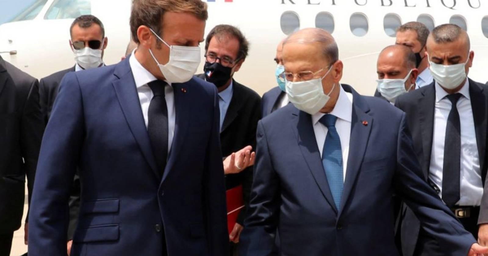 """Emmanuel Macron en Beirut: """"La prioridad es la ayuda, pero el Líbano necesita reformas o seguirá hundiéndose"""""""