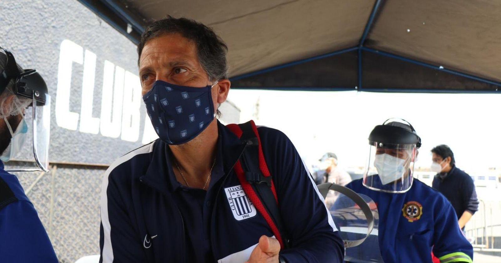 Mario Salas pide que los hinchas de Alianza Lima se queden en sus casas tras suspensión del fútbol peruano