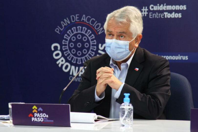 Ministerio de Salud: positividad de PCR en la Región Metropolitana llega a un 7%