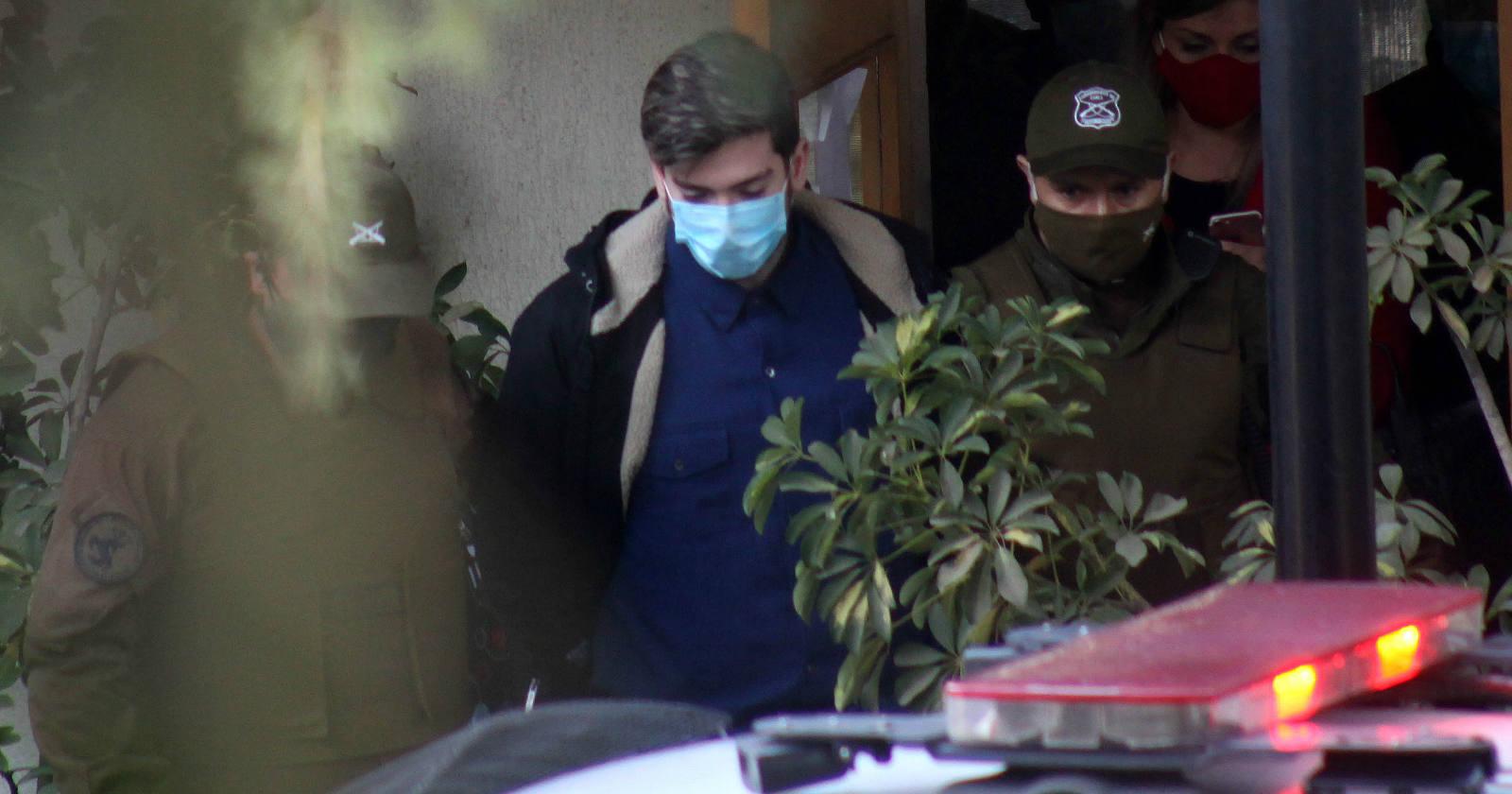 """""""Corte de Apelaciones ordena que Nano Calderón cumpla prisión preventiva en Santiago 1"""""""