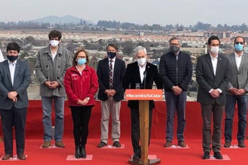 Piñera lanzó descuento de tarifa eléctrica de calefacción para 10 comunas