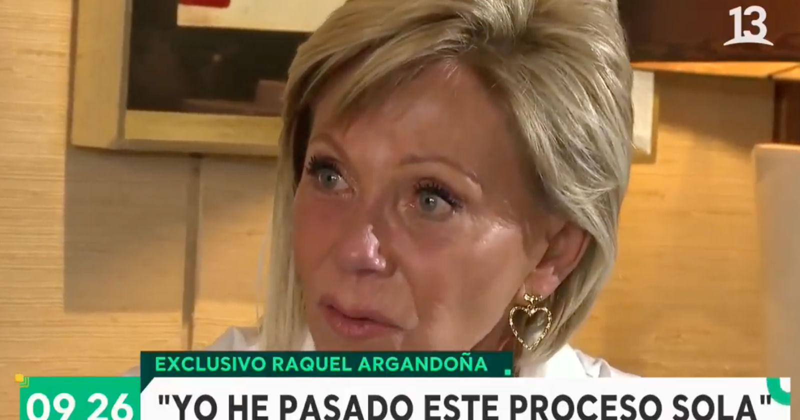 """Raquel Argandoña rompió el silencio en el Bienvenidos: """"Somos una familia de mierda"""""""
