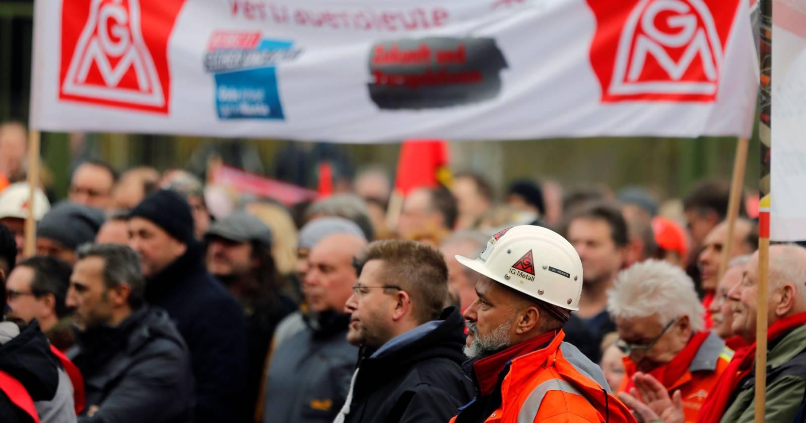 Sindicato más grande de Alemania propone semana laboral de cuatro días para evitar despidos