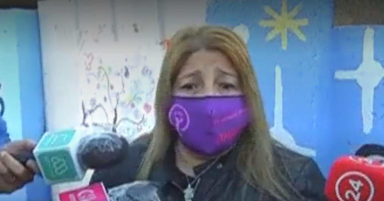 Tutora de Ámbar Cornejo reaccionó ante detención de su padre