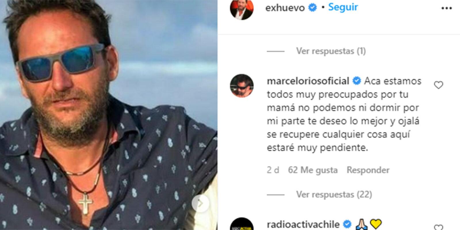 El mensaje de Marcelo Ríos a Daniel Fuenzalida por estado de su mamá