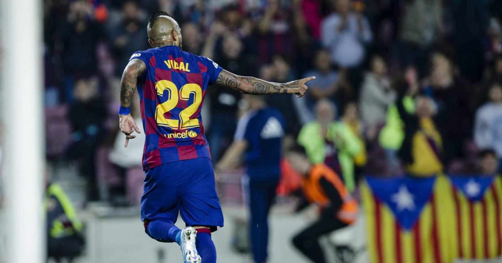 Arturo Vidal renuncia a su último año de contrato con el Barcelona