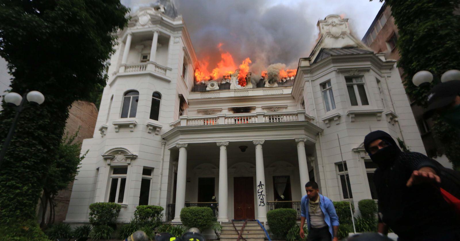 Condenado por incendio de U. Pedro de Valdivia cumplirá pena en libertad