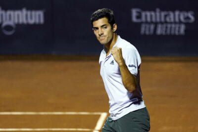 Cristian Garin se instaló en cuartos de final del ATP 500 de Hamburgo
