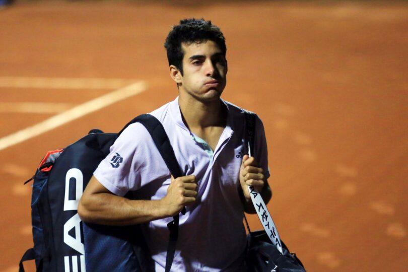 Cristian Garin tuvo debut y despedida en el Masters 1.000 de Roma