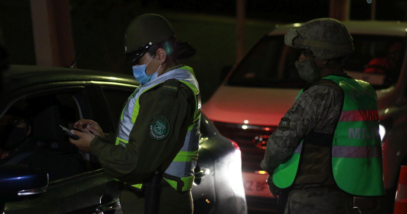 Balance de Carabineros: más de 2.800 personas fueron detenidas en las últimas 24 horas