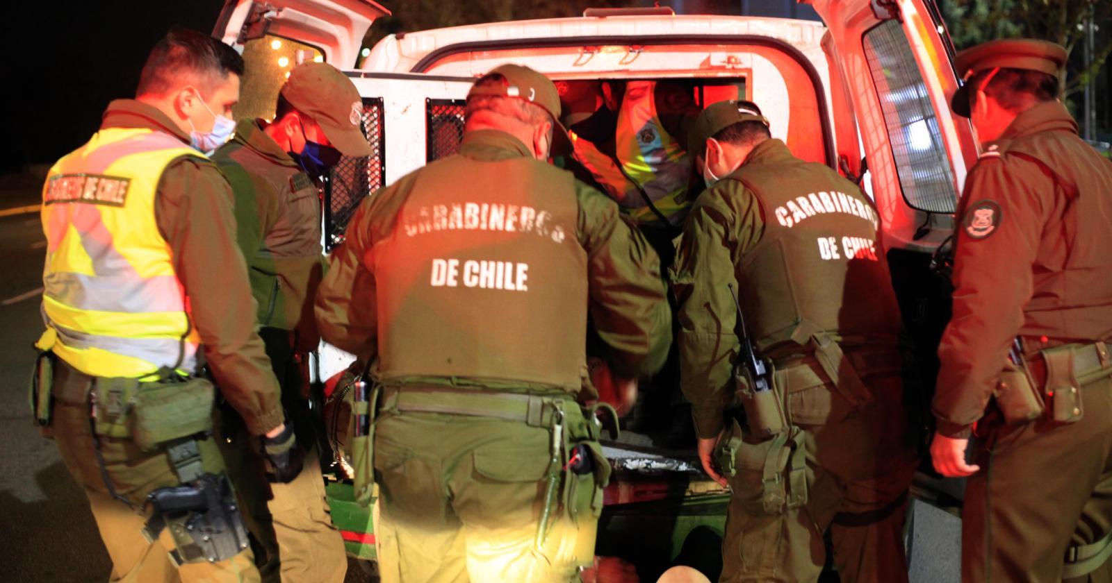 23 detenidos tras violenta toma del Mercado Municipal de Coquimbo