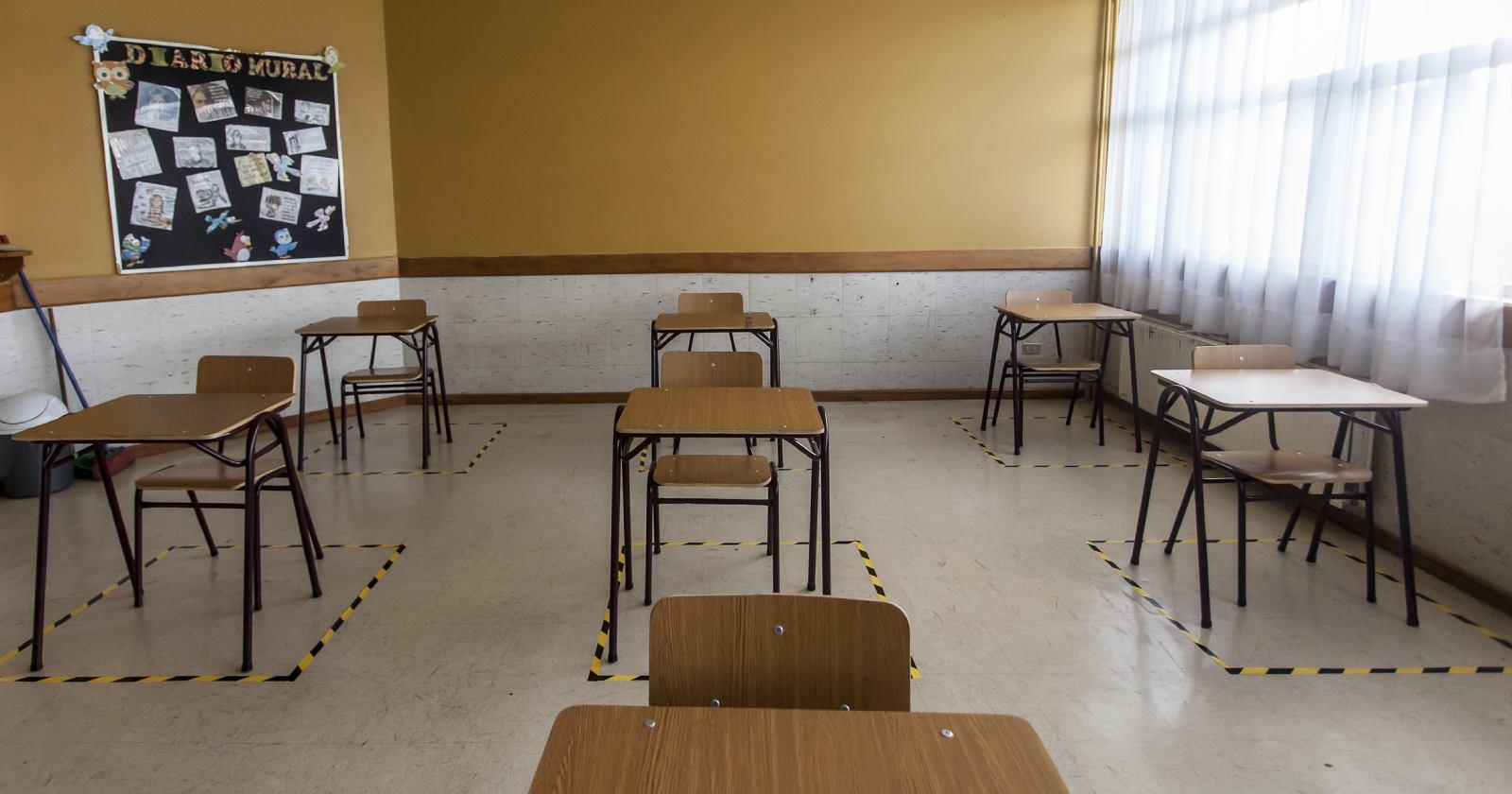 Cómo será el retorno a clases en los primeros colegios de Santiago en reabrir sus puertas