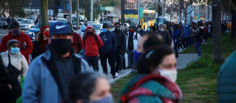 Las comunas de Santiago que siguen estancadas en la cuarentena
