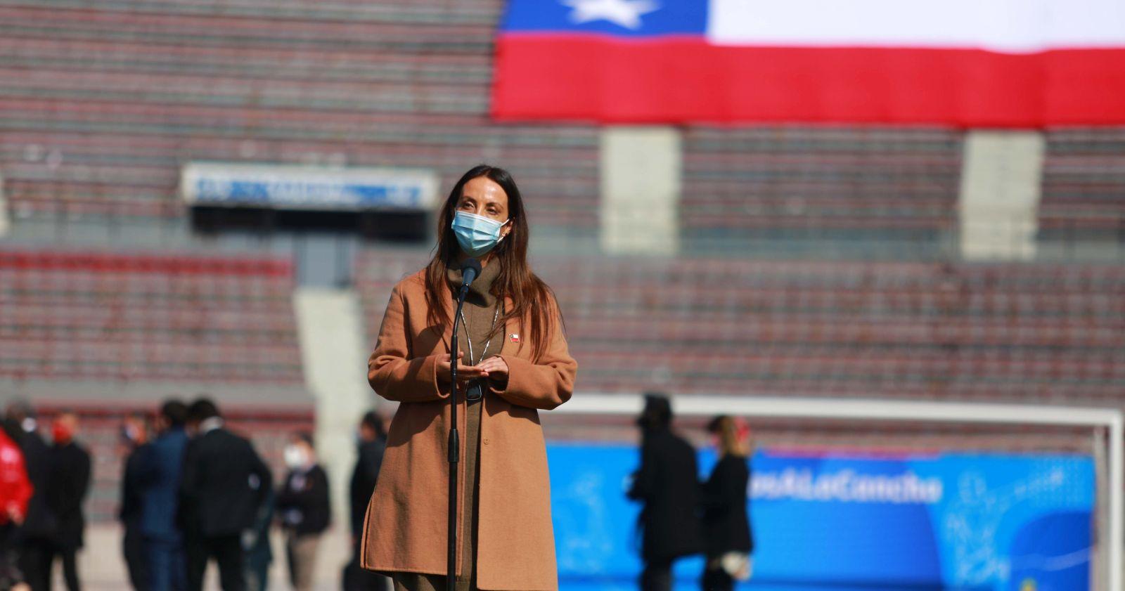 Ministra Pérez comparte imágenes de deportistas nacionales para llamar al cuidado en Fiestas Patrias