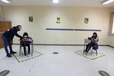 El positivo balance de la guardería habilitada hace un mes en un colegio de Providencia