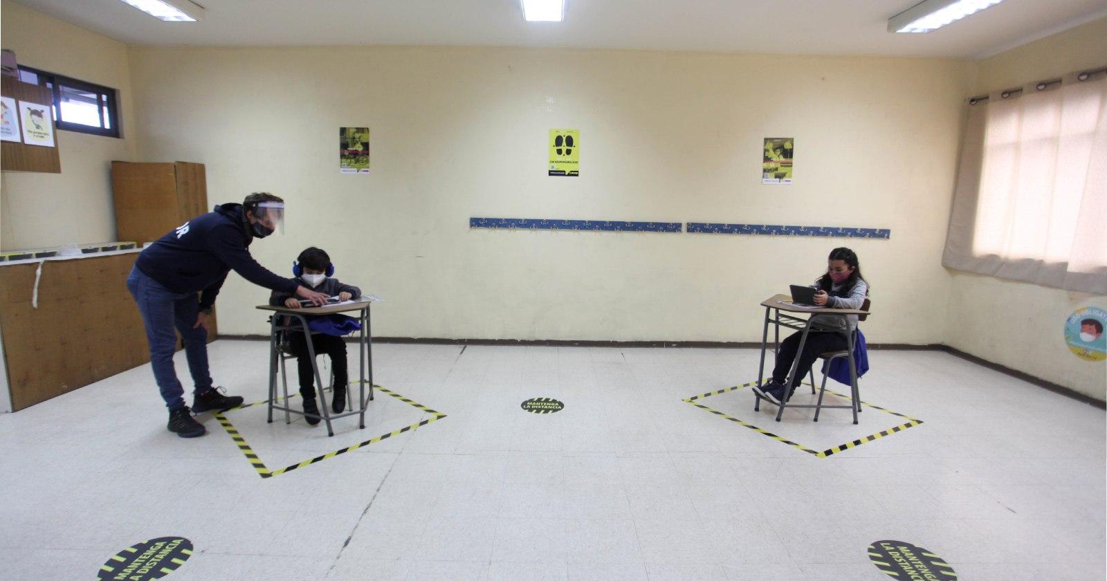 """""""El positivo balance de la guardería habilitada hace un mes en un colegio de Providencia"""""""