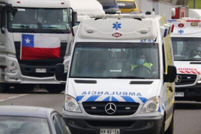 Hombre que habría estado participando en paro camionero murió atropellado en Curicó